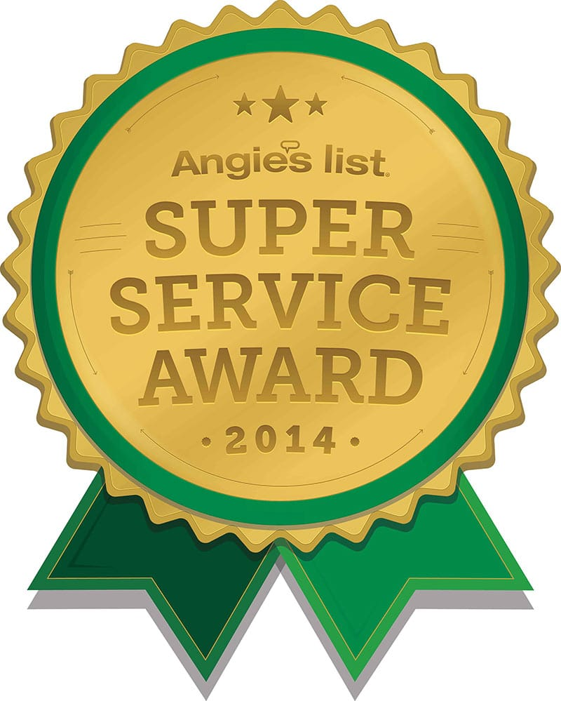 Changing Spaces Moving Awarded Angies List Super Service Award 2014