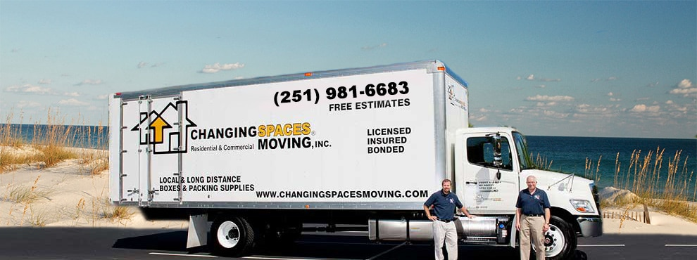 Moving Company Orange Beach AL - Gulf Coast - Daphne AL - Fairhope - Foley - Robertsdale - Spanish Fort