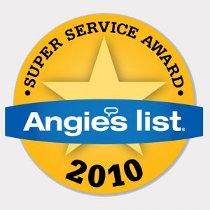 Changing Spaces Moving Award Angies List Super Service Aware 2010