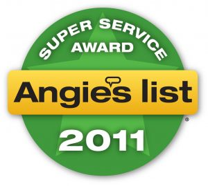 Changing Spaces Moving Awarded Angies List Super Service Award 2011